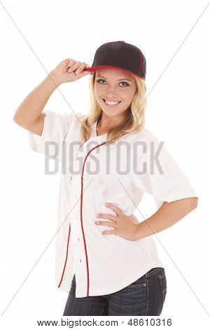 Woman Baseball Touch Hat