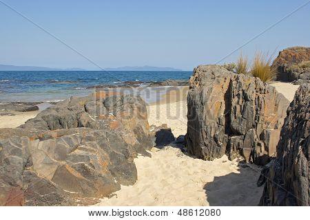Spiky Beach, Tasmania, Australia