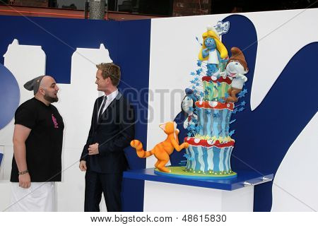 LOS ANGELES - JUL 28:  Duff Goldman, Neil Patrick Harris arrives at the