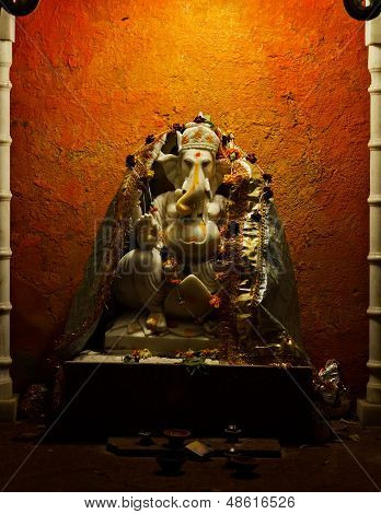 Statuette Of The God - Ganesh. India, Udaipur