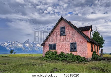 The Pink House On Mormon Row