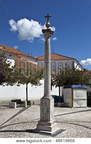 Pillory in Borba, Portugal