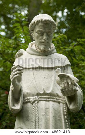 San Francisco de Asís estatua