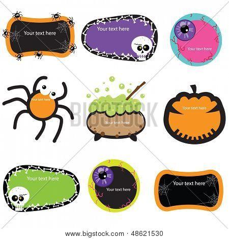 Cute Halloween banners