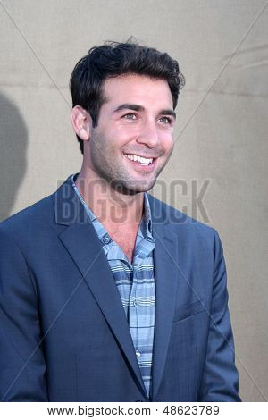 LOS ANGELES - JUL 29:  James Wolk arrives at the 2013 CBS TCA Summer Party at the private location on July 29, 2013 in Beverly Hills, CA