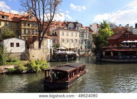 Vltava river, Prague, Czech republic.