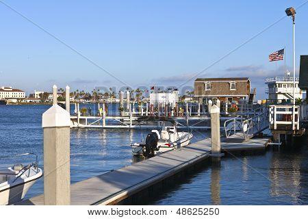 Fuel Depot For Boats San Pedro California.