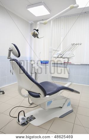 Interior of a dantist consulting room