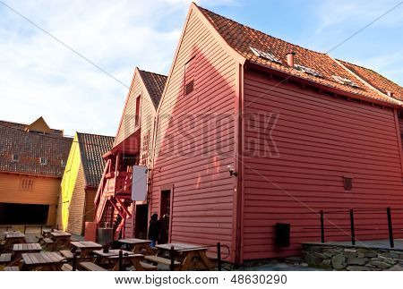 The Red Houses