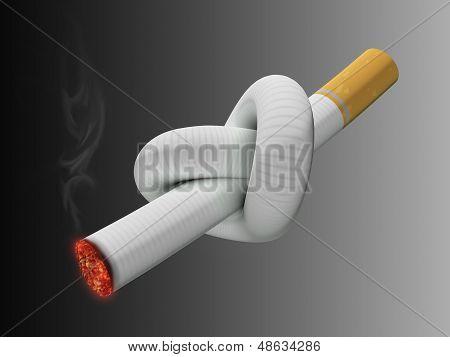 Cigarette Knot