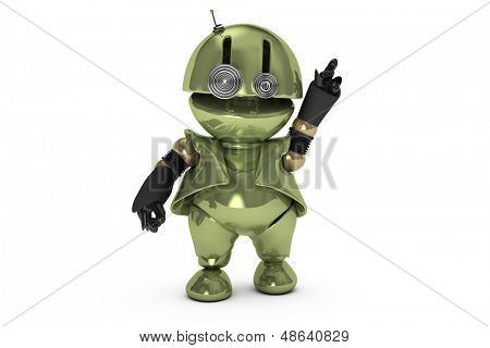 Original 3D-Charakter