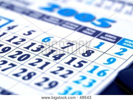 Calendar 2005 Detail