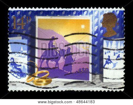 Journey To Bethlehem, Christmas Card