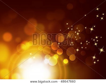 Festive sparkle background - bokeh design