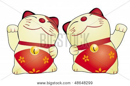 Japan Cat Doll