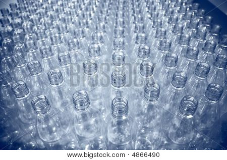 Lots Of Plastic Bottles
