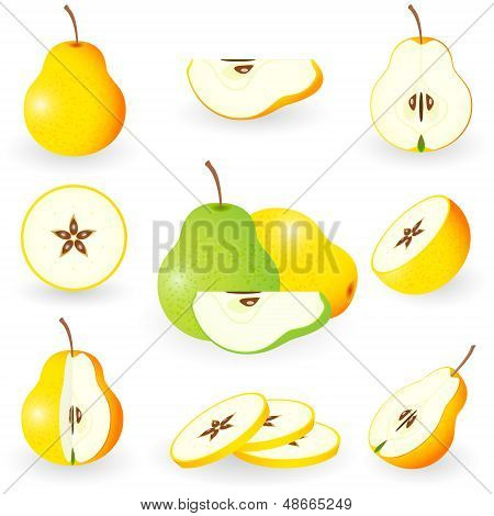 Icon Set Pear