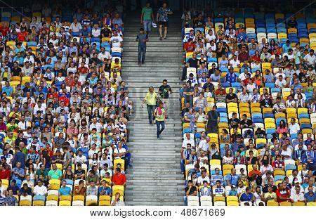 Tribunes Of Nsc Olympic Stadium