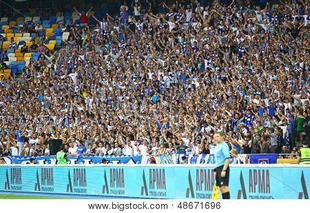 Fc Dynamo Kyiv Team Supporters