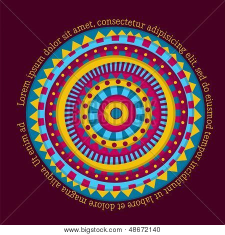 Colorful Round Design