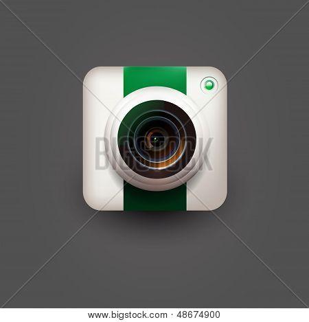 User interface camera icon