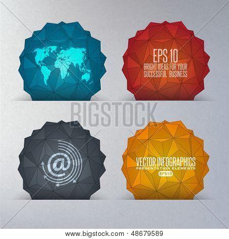 formas geométricas em 3D
