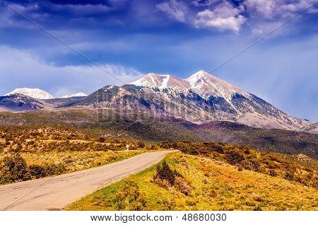 Scenic Loop Road, La Sal Mountains,