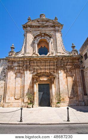 Church of St. Domenico. Putignano. Puglia. Italy.