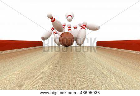 Perfect Bowling Strike