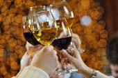 stock photo of alcoholic drinks  - Celebration - JPG