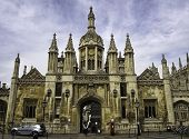 picture of chapels  - Kings college chapel Cambridge in old UK - JPG