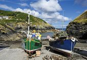 Fishing Boats In Cornwall