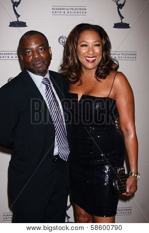LeVar Burton and Stephanie Cozart Burton at the Daytime Emmy Nominees Reception presented by ATAS, Montage Beverly Hills, CA 06-13-13
