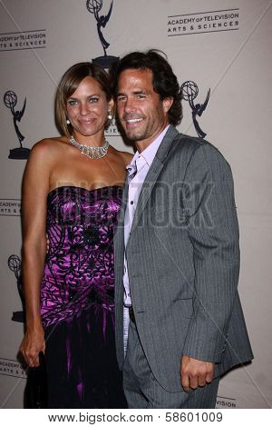 Arianne Zucker and Shawn Christian at the Daytime Emmy Nominees Reception presented by ATAS, Montage Beverly Hills, CA 06-13-13