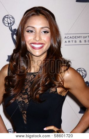 Lindsey Morgan at the Daytime Emmy Nominees Reception presented by ATAS, Montage Beverly Hills, CA 06-13-13