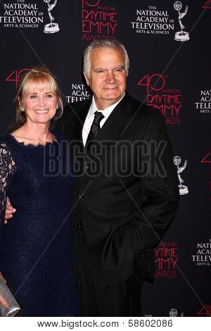 Laurette Sprang McCook and John McCook at the 2013 Daytime Creative Emmys, Bonaventure Hotel, Los Angeles, CA 06-14-13