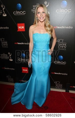 Lauralee Bell at the 40th Annual Daytime Emmy Awards, Beverly Hilton Hotel, Beverly Hills, CA 06-16-13