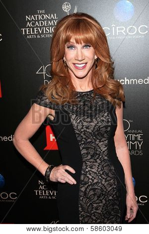 Kathy Griffin at the 40th Annual Daytime Emmy Awards, Beverly Hilton Hotel, Beverly Hills, CA 06-16-13