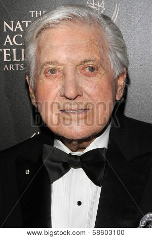 Monty Hall at the 40th Annual Daytime Emmy Awards, Beverly Hilton Hotel, Beverly Hills, CA 06-16-13