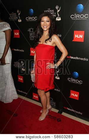 Julie Chen at the 40th Annual Daytime Emmy Awards, Beverly Hilton Hotel, Beverly Hills, CA 06-16-13