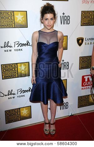 Eden Sher at the 3rd Annual Critics' Choice Television Awards, Beverly Hilton Hotel, Beverly Hills, CA 06-10-13