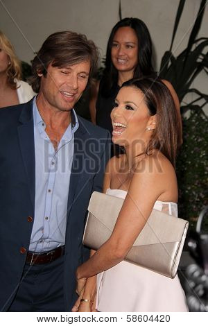 Grant Show and Eva Longoria at the
