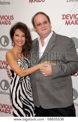 Susan Lucci and Marc Cherry at the