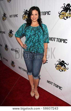 Katrina Law at the Comikaze red carpet Launch Party, Whimsic Alley, Los Angeles, CA 06-21-13