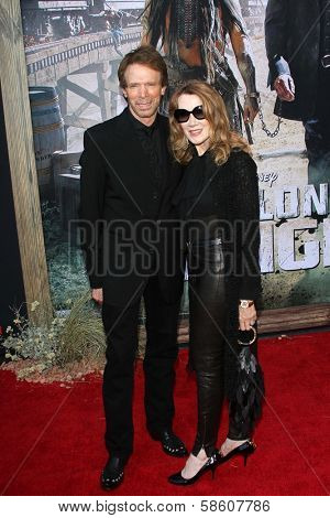 Linda Bruckheimer and Jerry Bruckheimer at