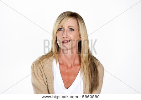 Mature Model Making Faces