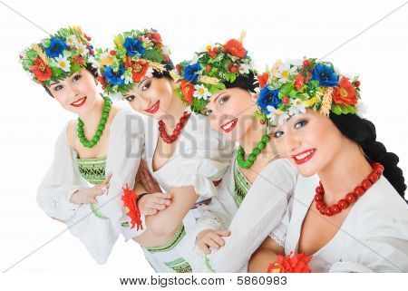Four Ukrainian Dancers
