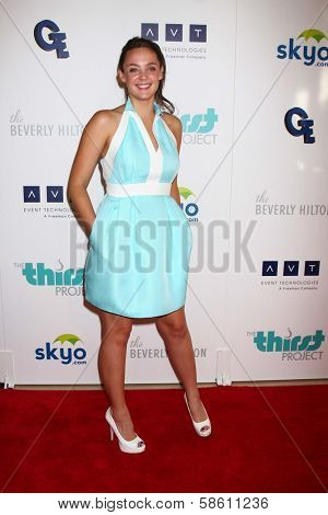 Stevie Lynn Jones at the 4th Annual Thirst Gala, Beverly Hilton Hotel, Beverly Hills, CA 06-25-13