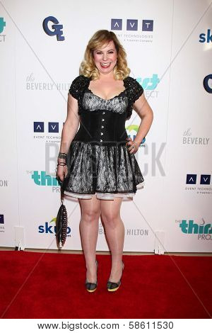 Kirsten Vangsness at the 4th Annual Thirst Gala, Beverly Hilton Hotel, Beverly Hills, CA 06-25-13
