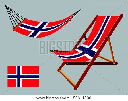Svalbard Hammock And Deck Chair Set